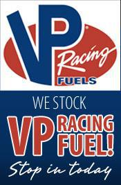 We stock VP Racing Fuel! Stop in today