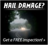 Hail damage? Get a free inspection!