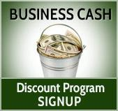 Business Cash Discount Program Signup