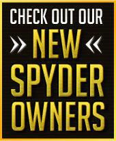 Check out our new Spyder owners!