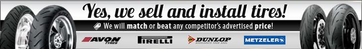 Yes, we sell and install tires! We will match or beat any competitor's advertised price!
