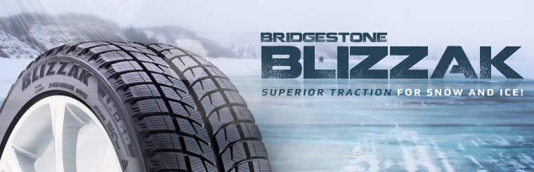 Click here to browse Bridgestone Blizzak tires.