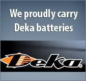 We proudly carry Deka batteries.