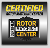 Certified Rotor Matching Center