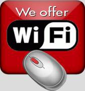We offer Wi-Fi
