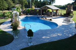 Backyard Pools & Spas