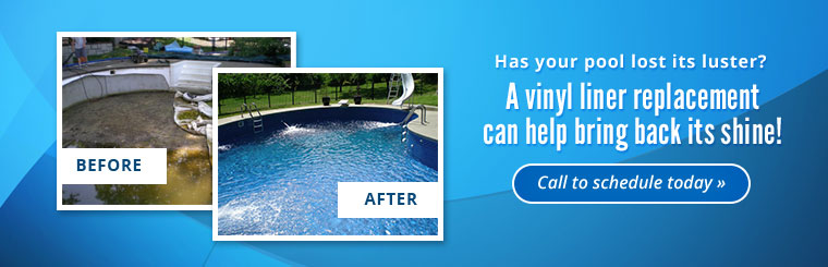 Has your pool lost its luster? A vinyl liner replacement can help bring back its shine! Click here to contact us.