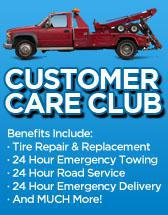 Check out the benefits that our customer care club offers!