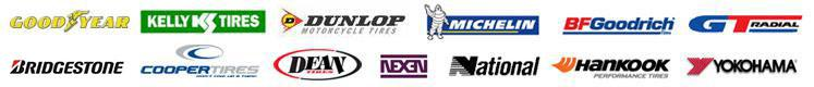 We carry products from Goodyear, Dunlop, Nexen, American Racing, Yokohama, Kelly, Cooper, Hankook, Michelin®, BFGoodrich®, Dean, GT, National, KMC, Moto Metal, and XD.