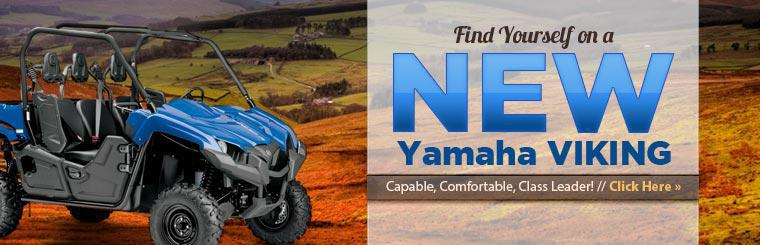 New Yamaha Viking Side x Sides: Click here to view the models.