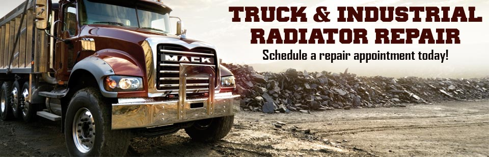 Truck & Industrial Radiator Repair: Schedule a repair appointment today!