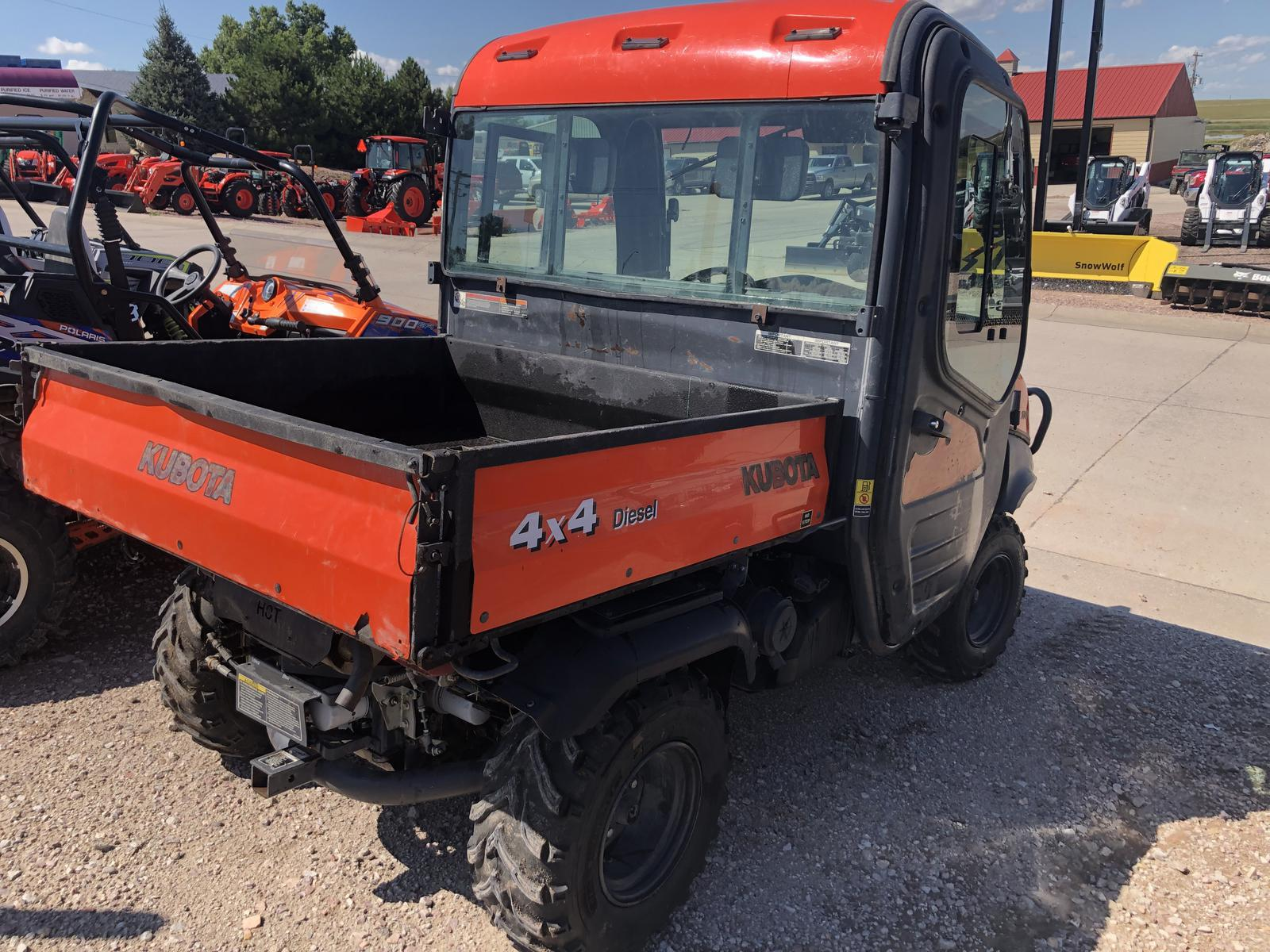 2008 Kubota RTV1100W Orange