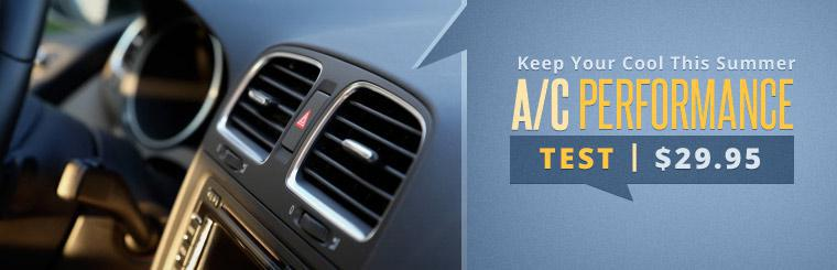 Click here for a coupon to receive an air conditioning performance test for just $29.95.