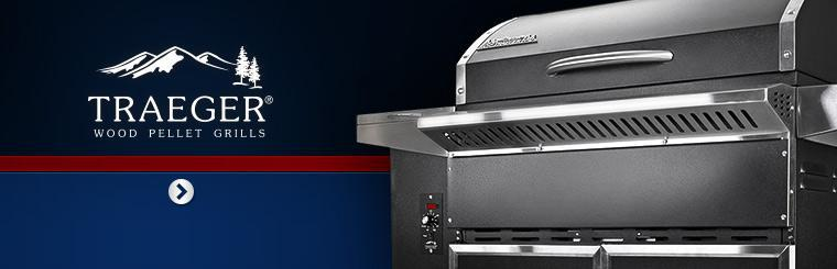 Click here to view Traeger wood pellet grills.