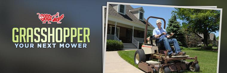 Click here to view Grasshopper mowers.