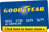 Goodyear Credit Card: Click here to learn more!