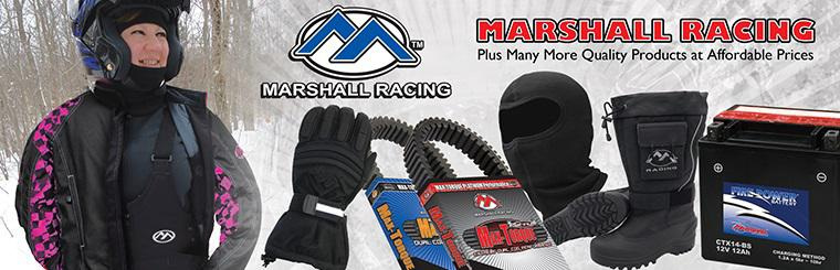 Marshall Snowmobile Racing Products