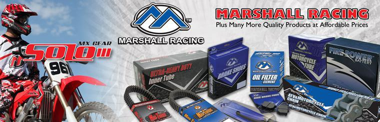 Marshall Racing Products  Rider approved, track tested.