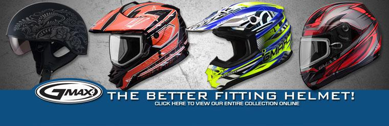 Click here to view the full line of GMAX helmets and accessories