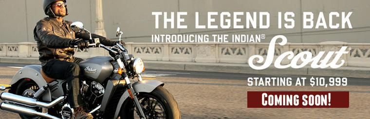 2015 Indian Motorcycle Scout Coming Soon!