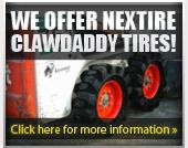 We Offer Nextire Clawdaddy Tires!