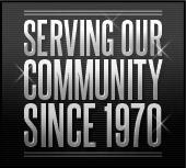 Serving our community since 1970.