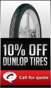 10% off Dunlop tires. Call for quote.