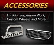 Accessories: Lift Kits, Suspension Work, Custom Wheels, and More