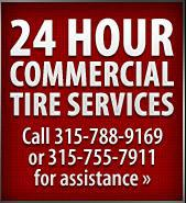 24 Hour Commercial Tire Services
