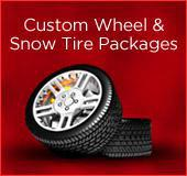 Custom Wheel & Snow Tire Packages