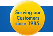 Serving our Customers since 1985.