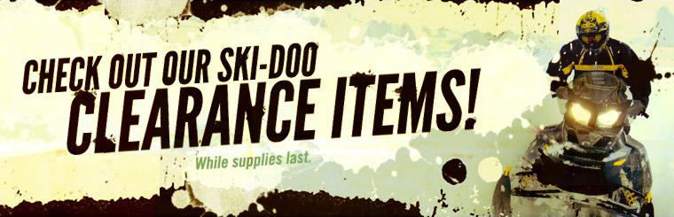 Click here to check out our Ski-Doo clearance items.