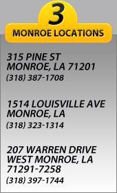 3 locations to better serve you.