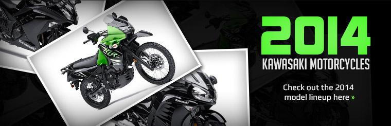 Click here to view the 2014 Kawasaki motorcycles.