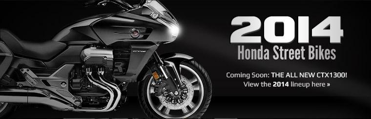 Click here to view the 2014 Honda street bikes.