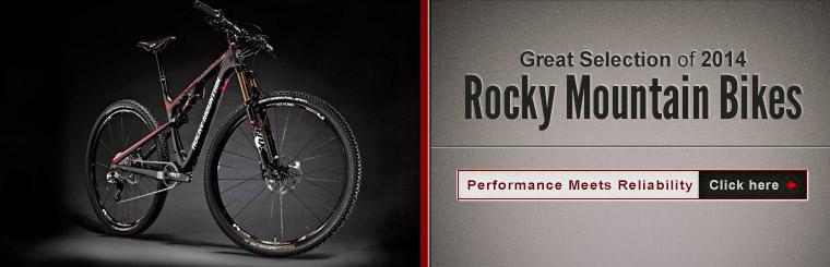 We have a great selection of 2014 Rocky Mountain bikes!