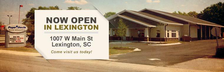 Come visit us today at 1007 West Main Street in Lexington, South Carolina!