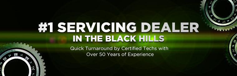 Four Seasons Sports Center is the #1 servicing dealer in the Black Hills!