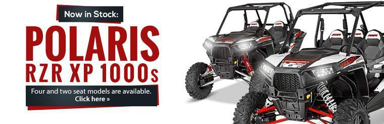 The Polaris RZR XP 1000 models are in stock!