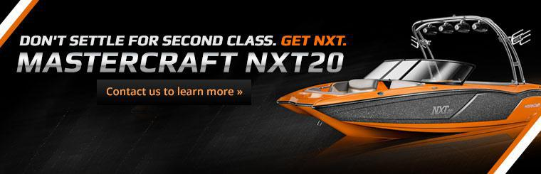 Don't settle for second class. Get the MasterCraft NXT20! Click here to learn more.