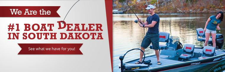We are the number one boat dealer in South Dakota. Click here to see what we have for you!