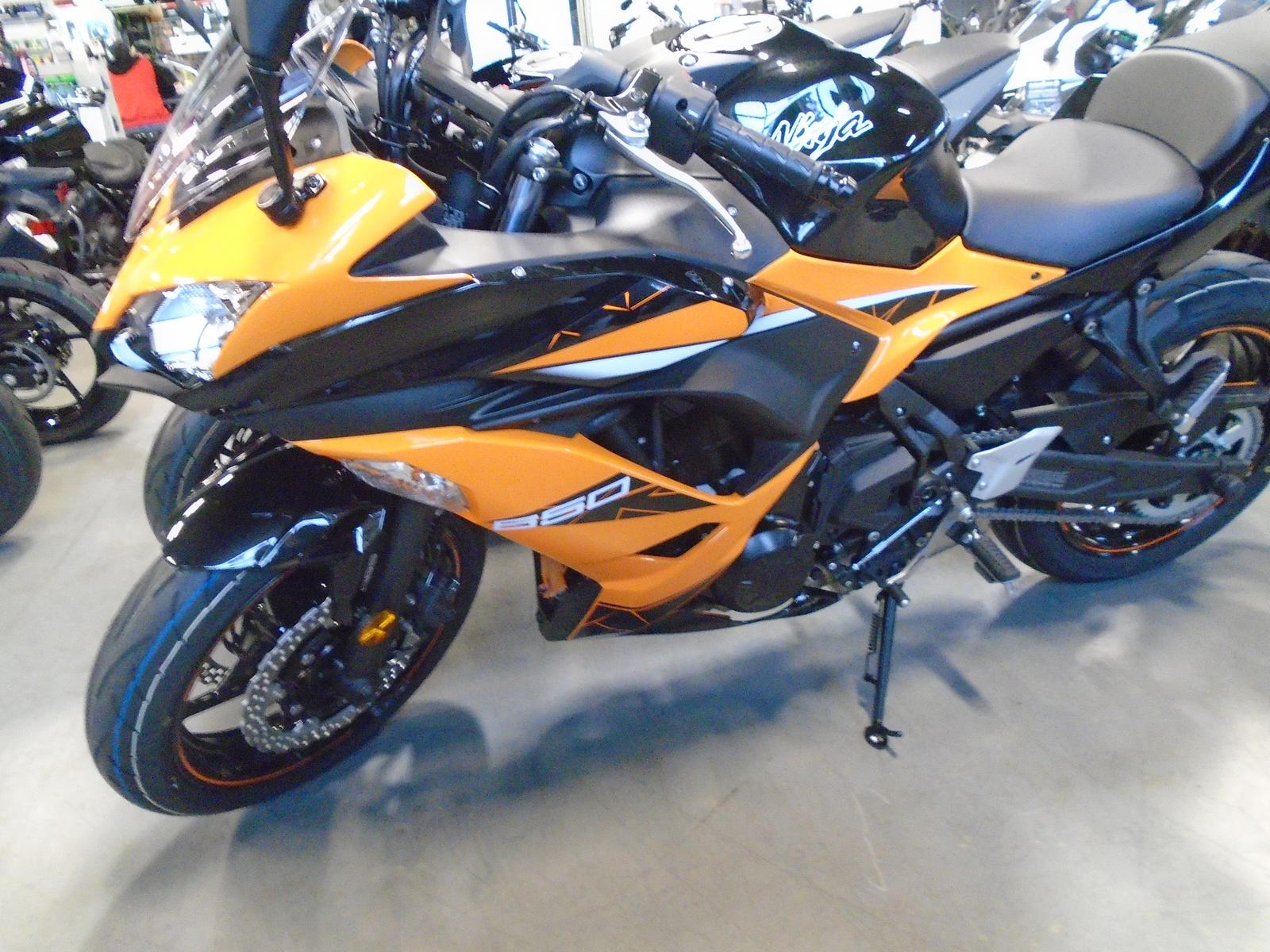 2019 Kawasaki Ninja 650 Abs Candy Orangemetallic Black For Sale