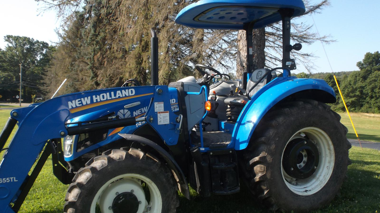 2016 New Holland Agriculture T4 75