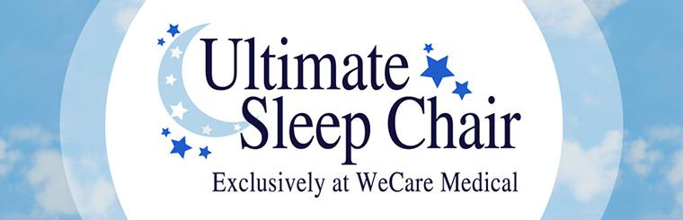 Ultimate Sleep Chair: Now exclusively at WeCare Medical!