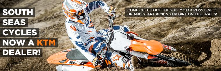 South Seas Cycles Now a KTM Dealer