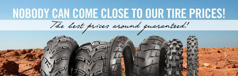Nobody can come close to our tire prices! The best prices around guaranteed!