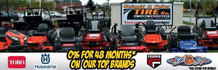 0% for 48 Months on Our Top Brands