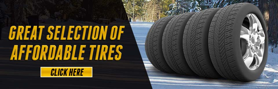 Great Selection of Affordable Tires: The leaves are falling and so are our tire prices.