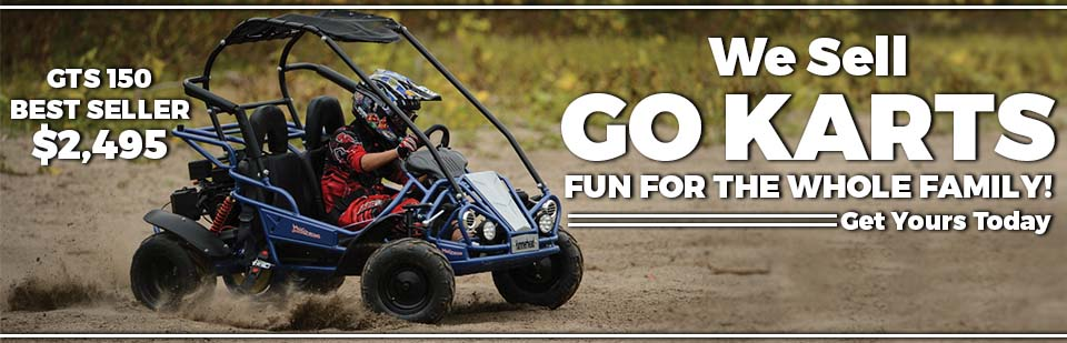 Hammerhead Off-Road Go-Karts: Click here to view the lineup.