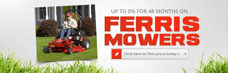 Ferris Mowers: Click here to find yours today.